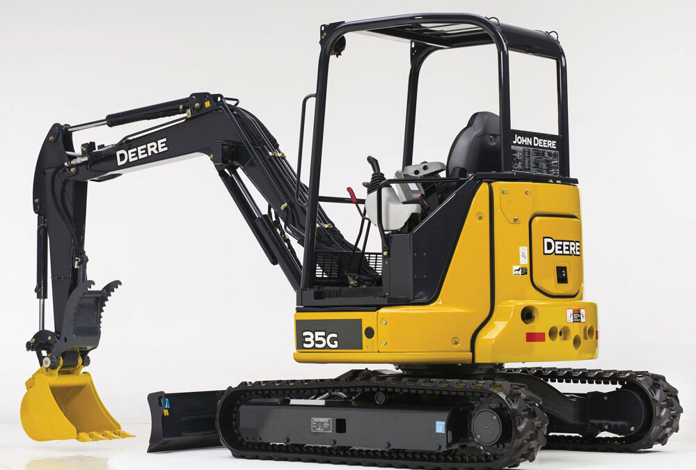 Deere 35G Mini Excavator – Open Station